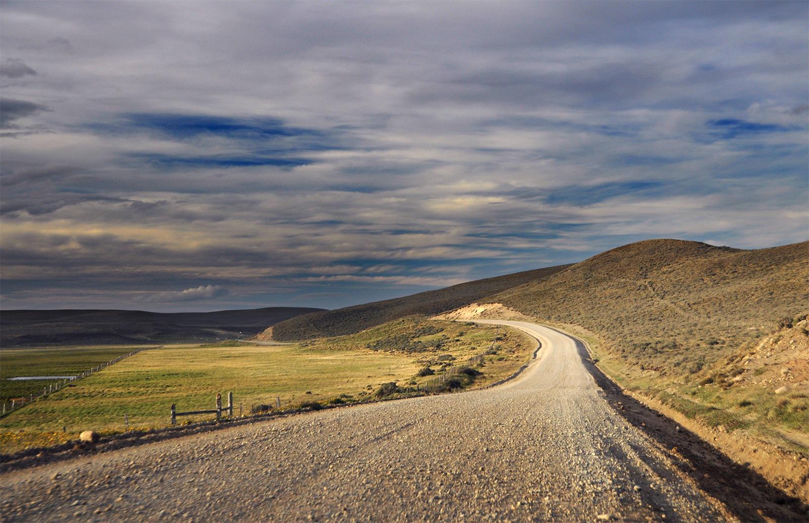 Tierra del Fuego Road