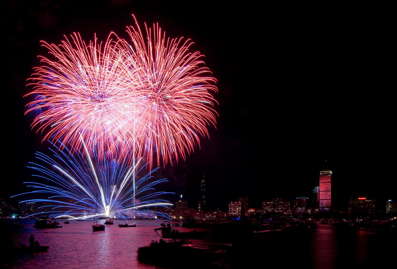 Skyline Fireworks 2