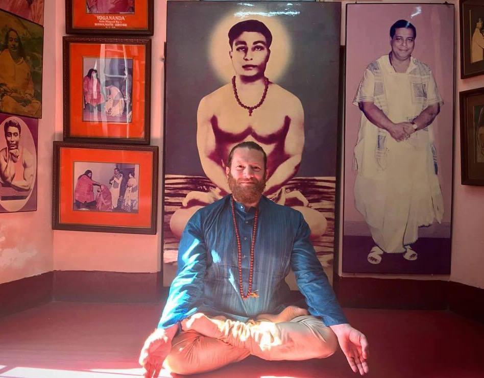 Yoga Teacher Training Instructor Christian Scaraglino Evolation Yoga