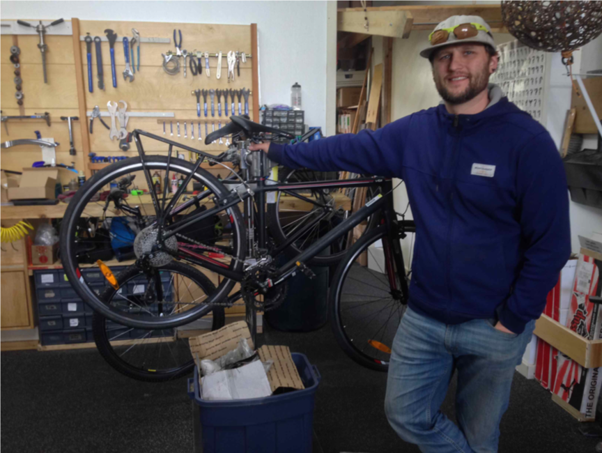 LION financing also helped to launch  The Broken Spoke , a full-service retail and rental bicycle shop located in the heart of downtown Port Townsend. Photo by Earl Murman.