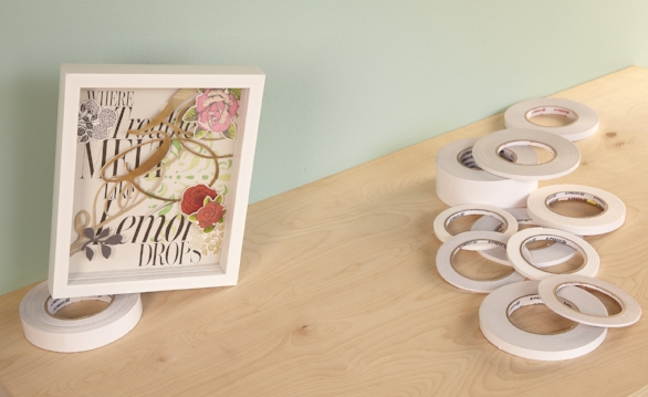 Foam Tape - Originally designed for the framing industry these foam tapes have become popular for scrapbooking and paper crafting.