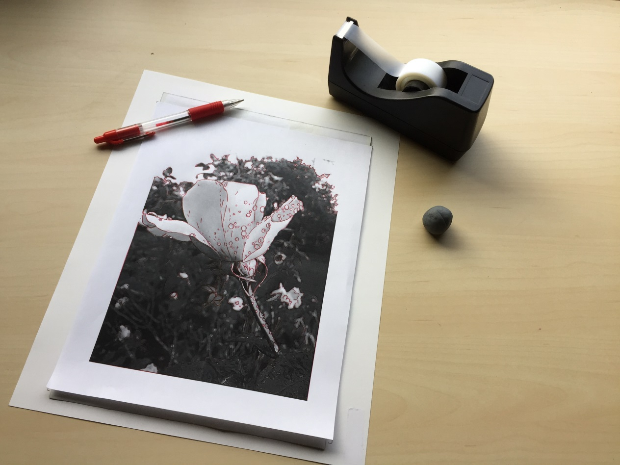 transfer paper tutorial for coloring pages stepout.JPG