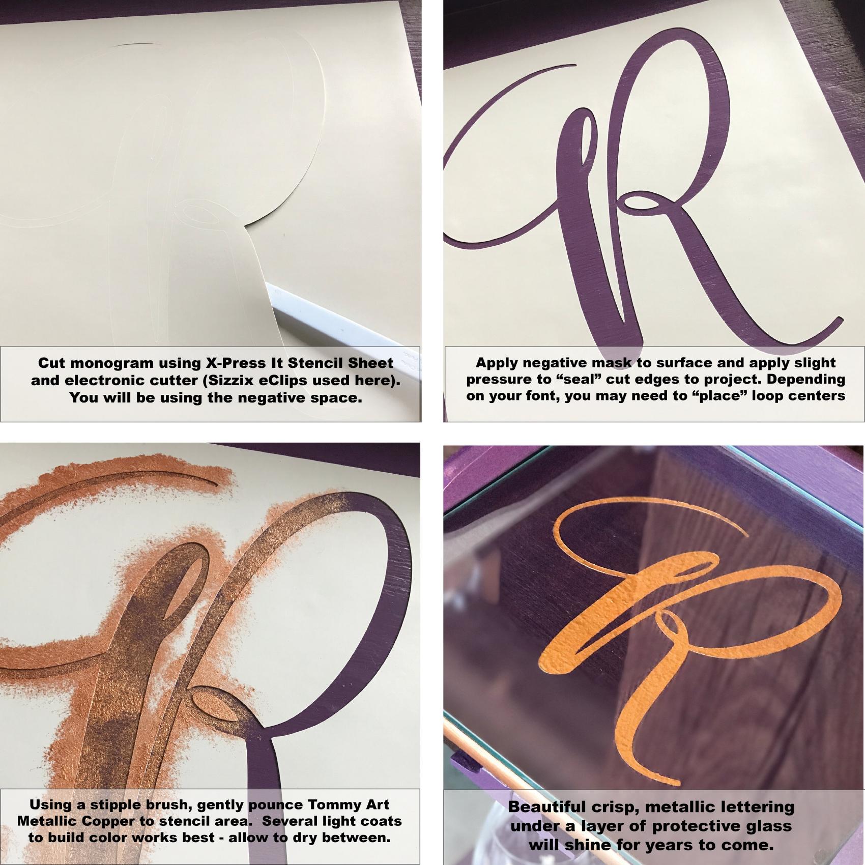 Metallic Monograms four steps.jpg