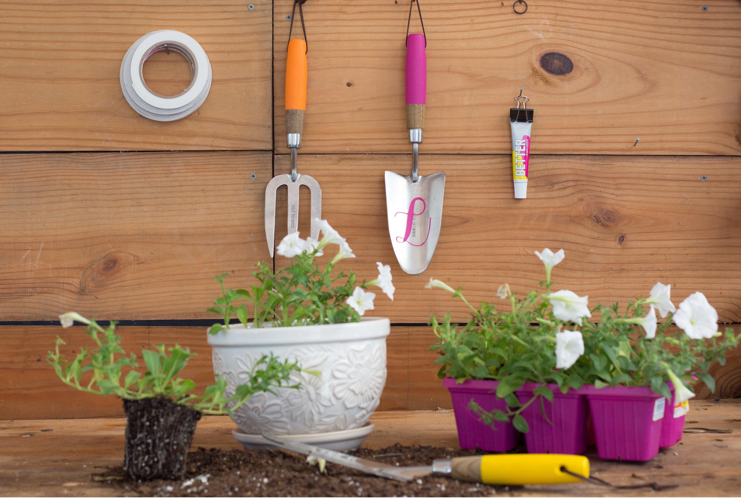 DIY Custom Colored Garden Tools 1