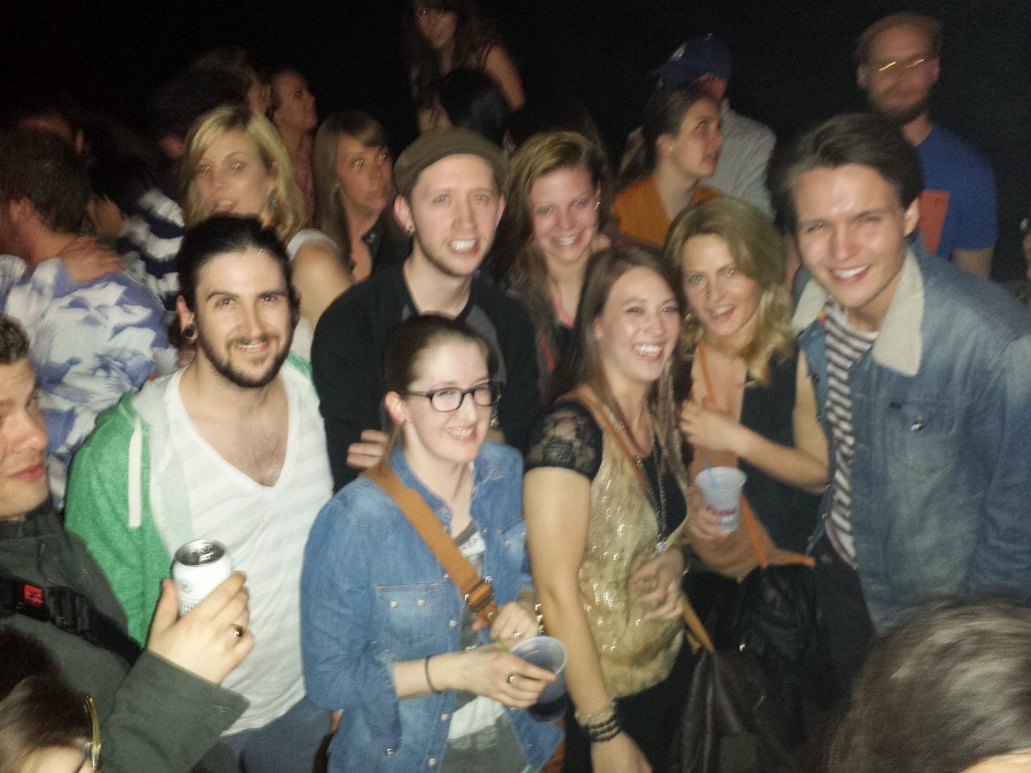 At the Head and the Heart concert