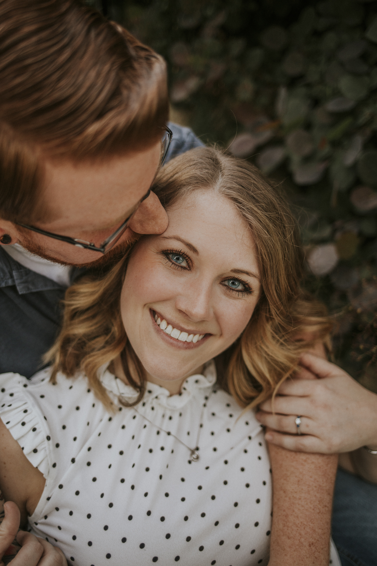 Krohn Conservatory Engagement Session Photography Overlooking the Ohio River