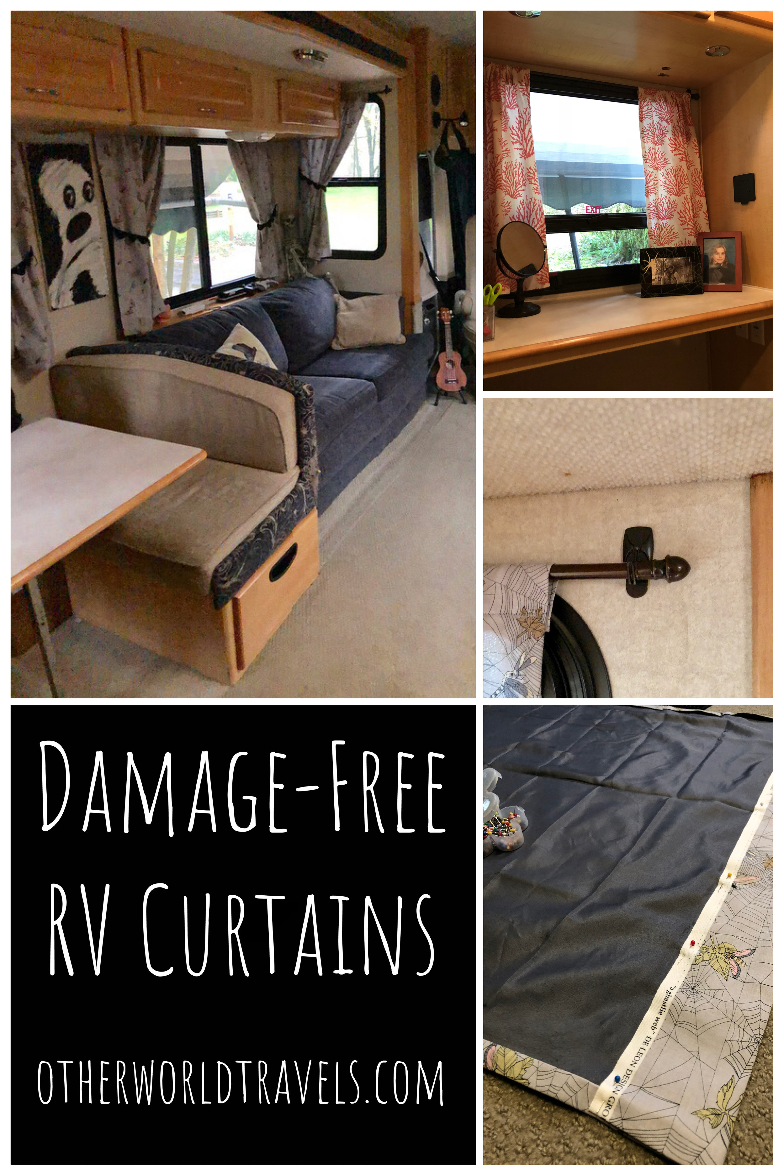 Damage Free Rv Curtains Otherworld Travels