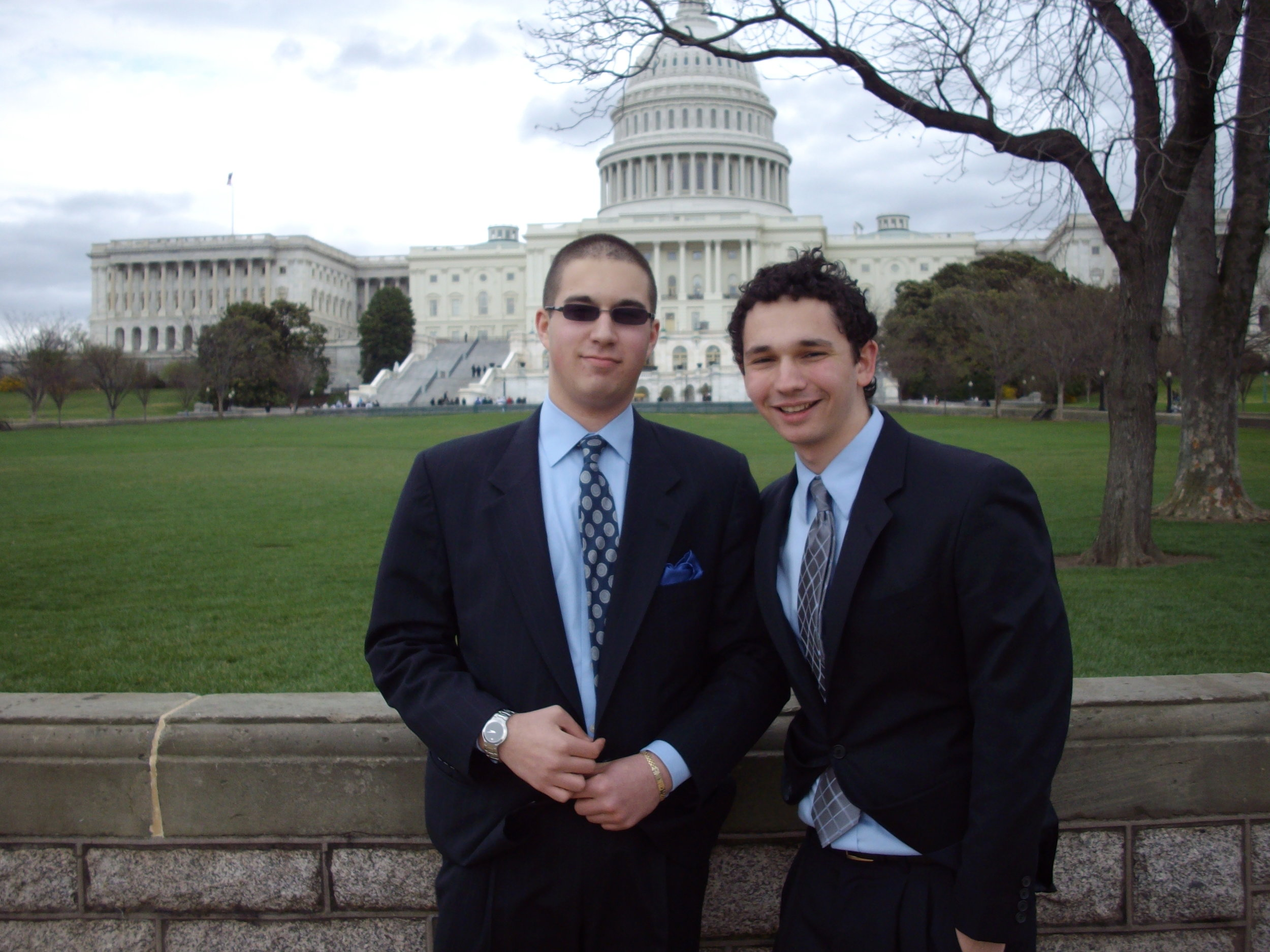 Outside the Capitol Building in Washington, D.C., May 2013