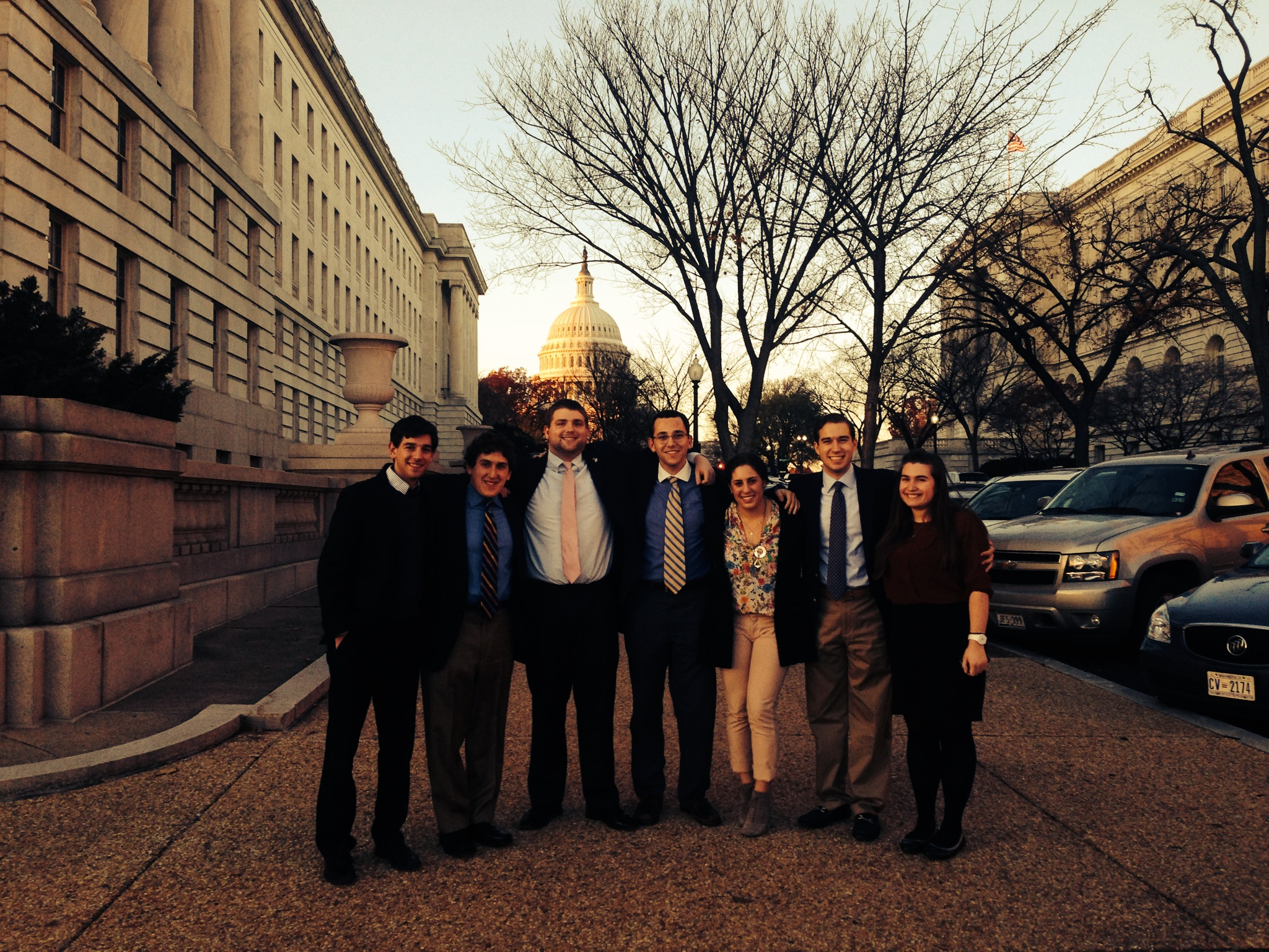 On Capitol Hills with Terps for Israel, November 2013