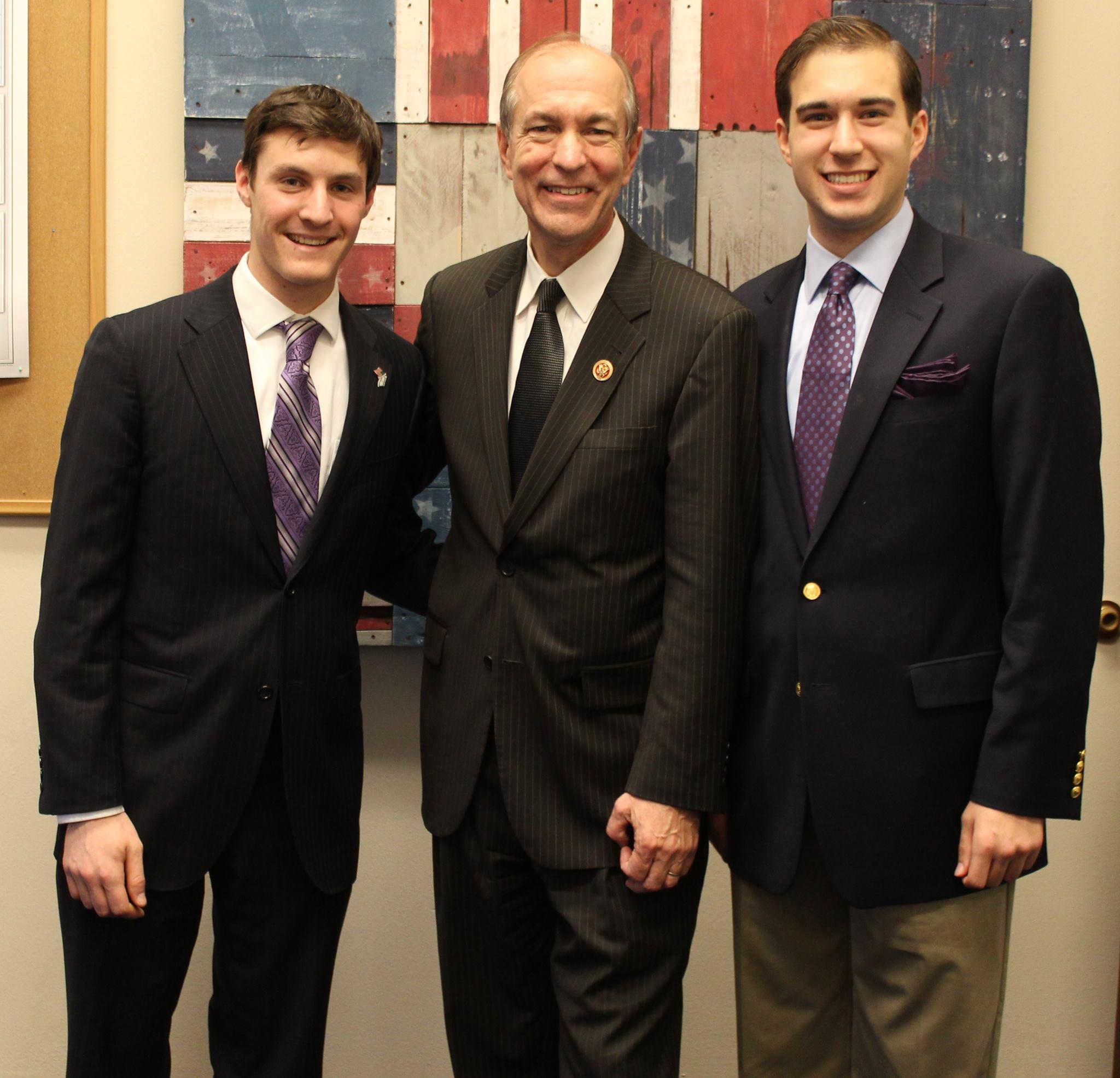 With former Congressman Scott Garrett (R-NJ), November 2013