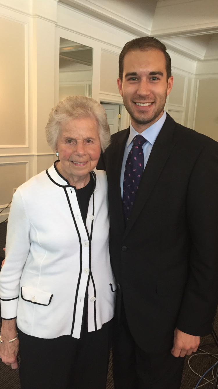 With former Speaker of the Ohio House of Representatives Jo Ann Davidson, August 2017