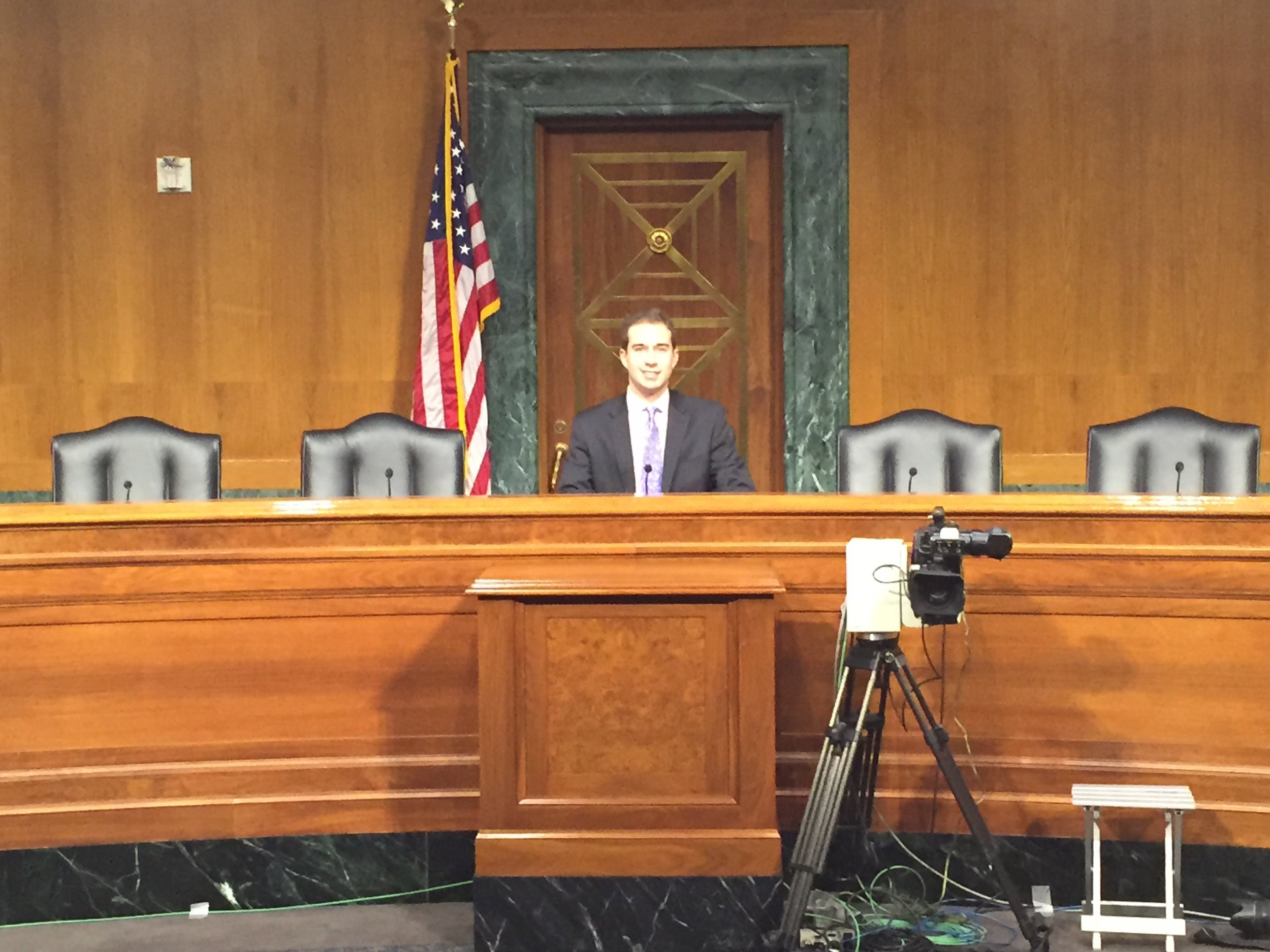 """""""Chairing"""" the Senate Foreign Relations Committee, Fall 2014"""