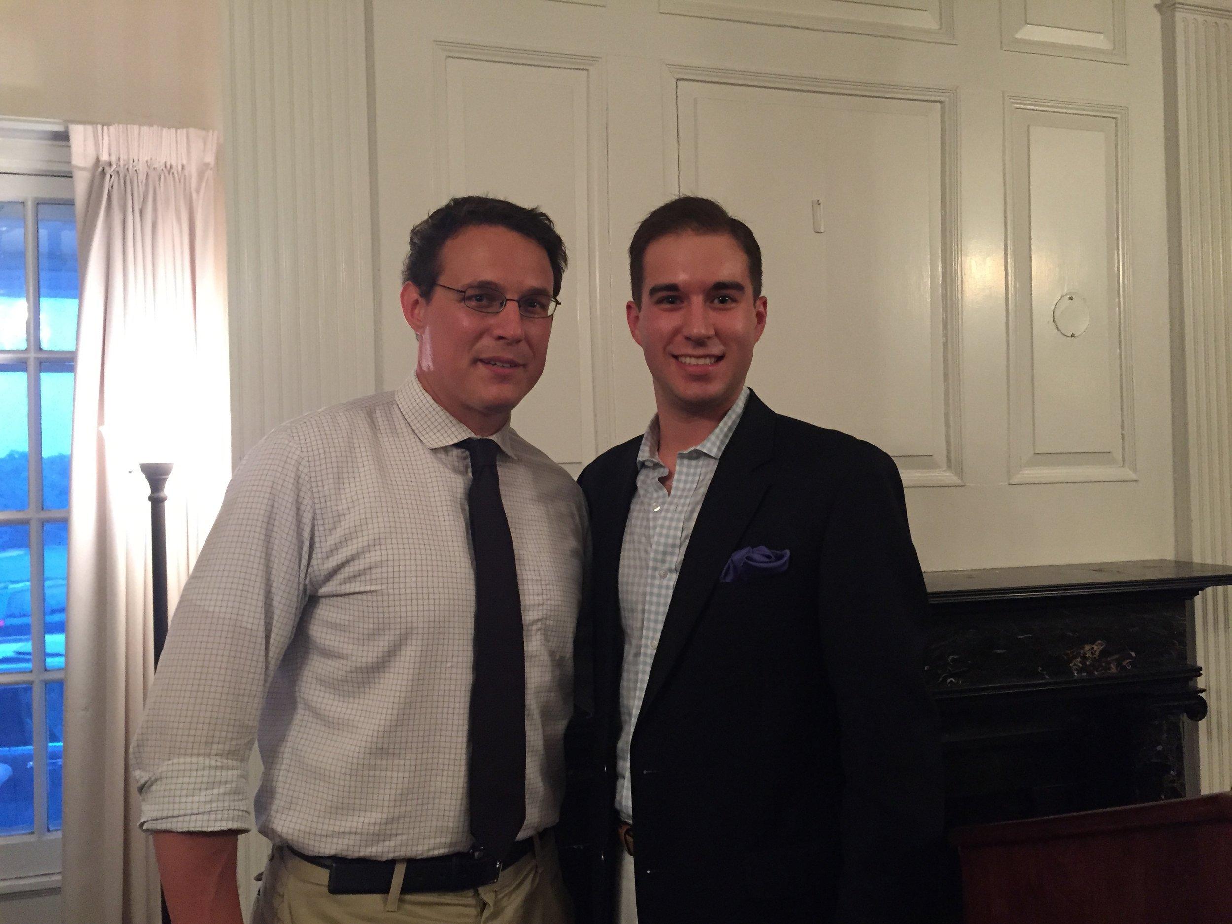 With MSNBC host Steve Kornacki, June 2015