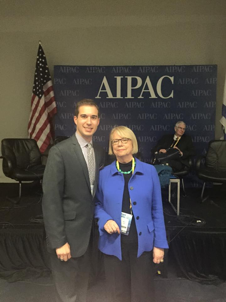 With political strategist Ann Lewis, March 2015