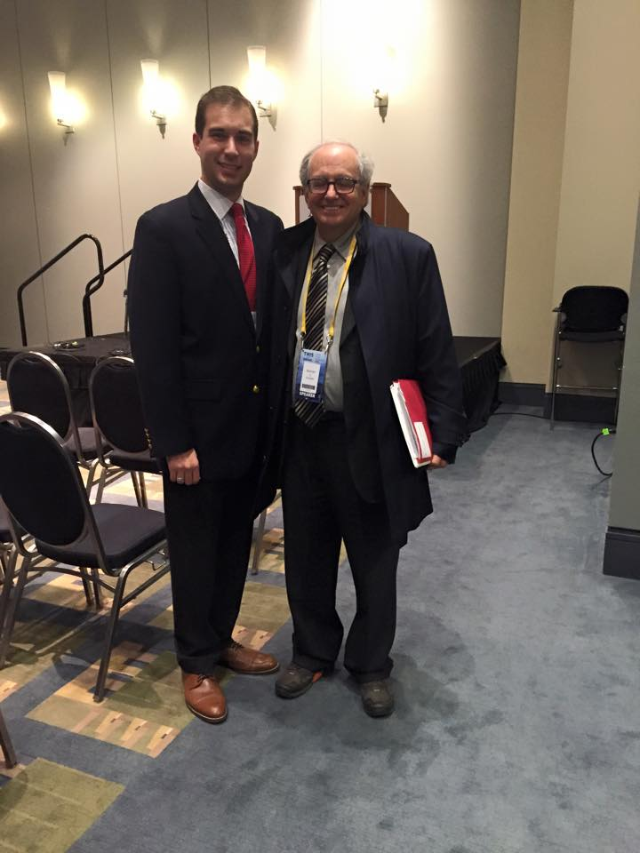 With longtime congressional scholar Norm Ornstein, March 2015