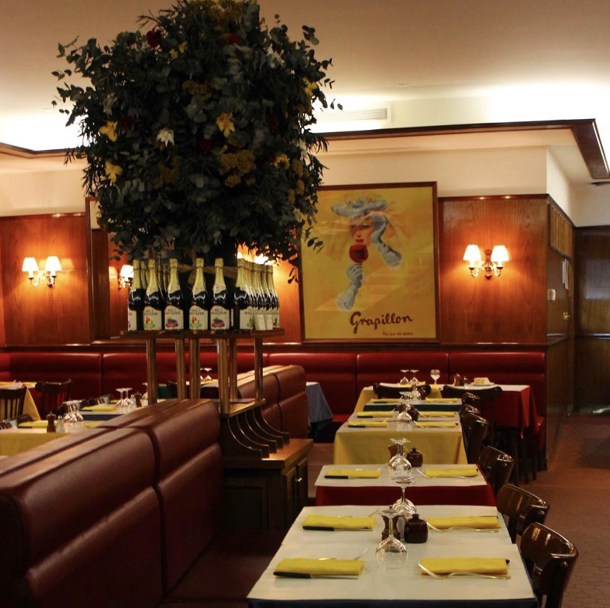 Relais de l'Entrecôte  - When in Paris you must have steak frites. Enjoy a leisurely dinner and get wrapped up in the classic Frenchness of this classic St. Germain restaurant, with cozy booths inside and a lively sidewalk patio outside.