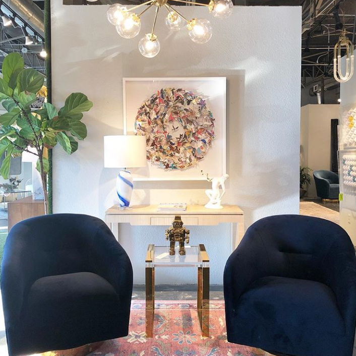 SCOUT DESIGN STUDIO  - Scout is an all-time favorite for sculptural, unique pieces. All of their pieces have a story, because they (pun intended) literally scout the world for furniture, fine art and inspiration for their exclusive, limited run designs. I have my eye on several things for HOTELette Dallas!