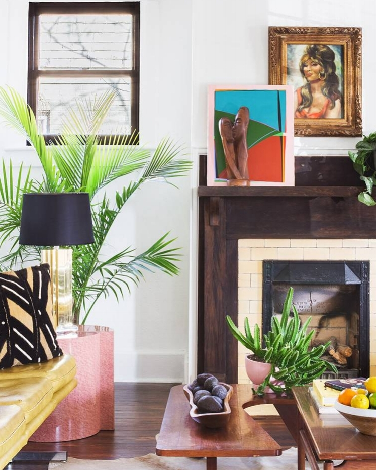 inside an eclectic nashville home tour - my domaine, 2018