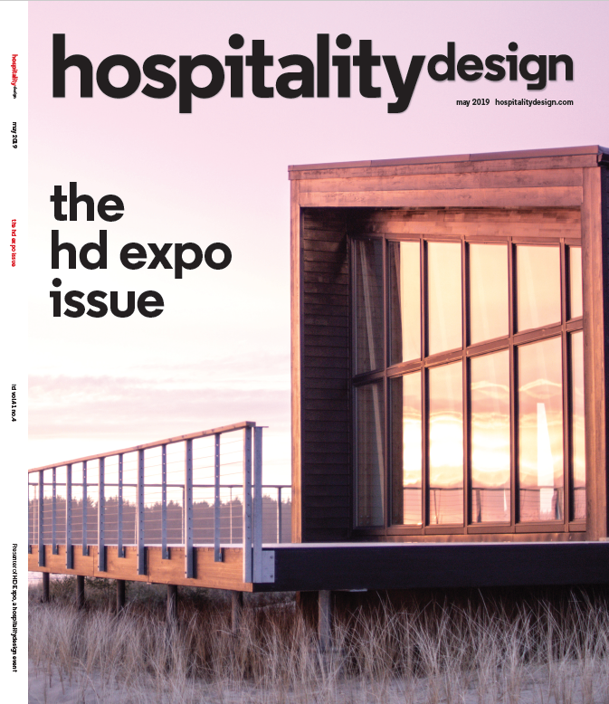perspective trends - hospitality design, 2019