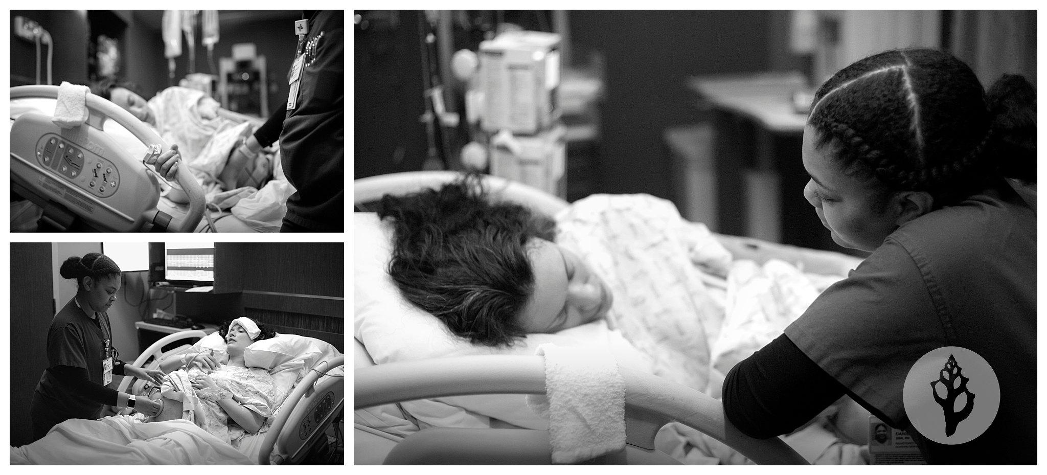Keller-Southlake Texas Maternity Portraits and Birth Photography