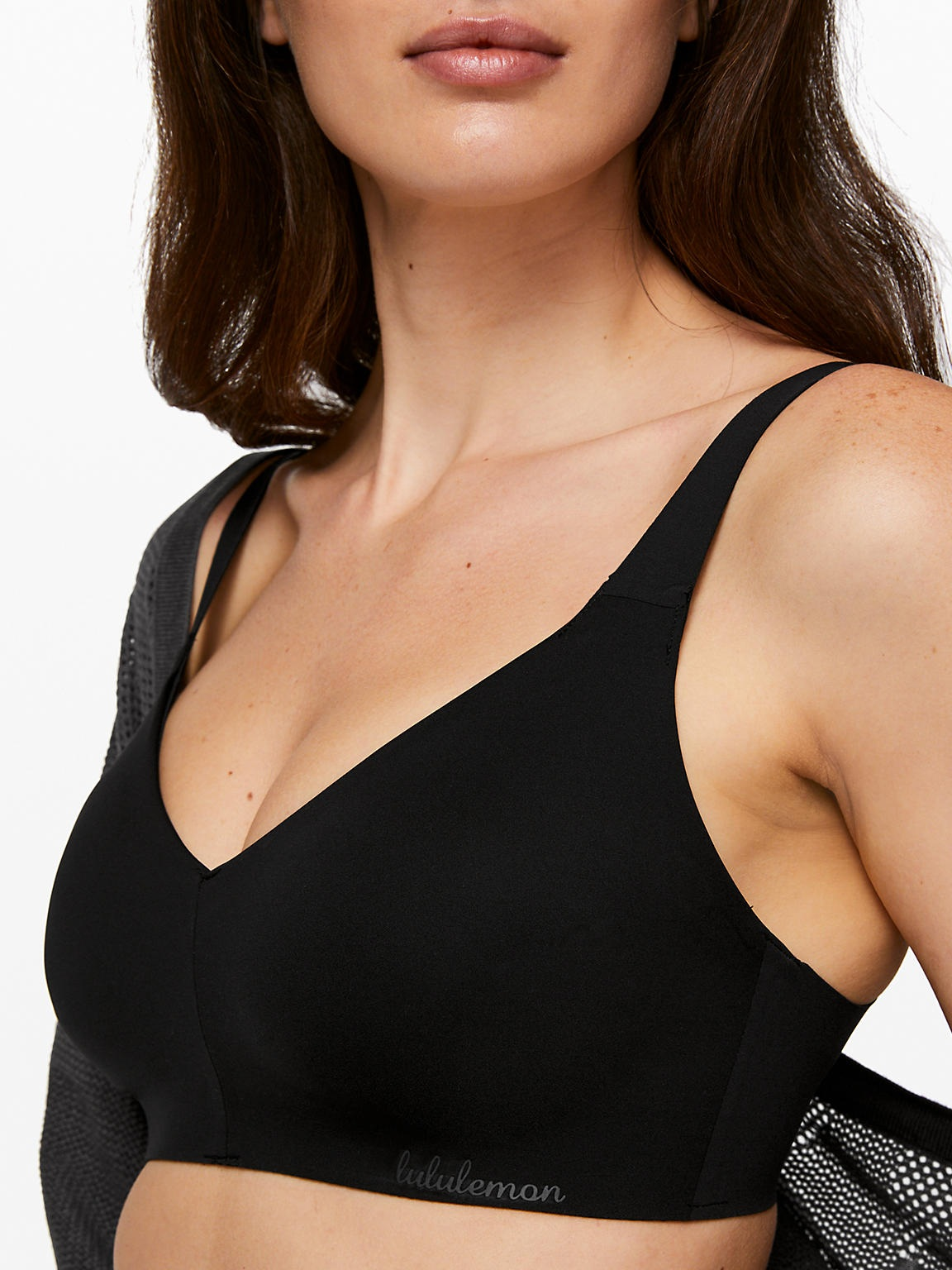 "Lululemon's Like Nothing bra gives great coverage and great comfort - but also provides good support and shape. Perfect for ladies with ""ladies""."