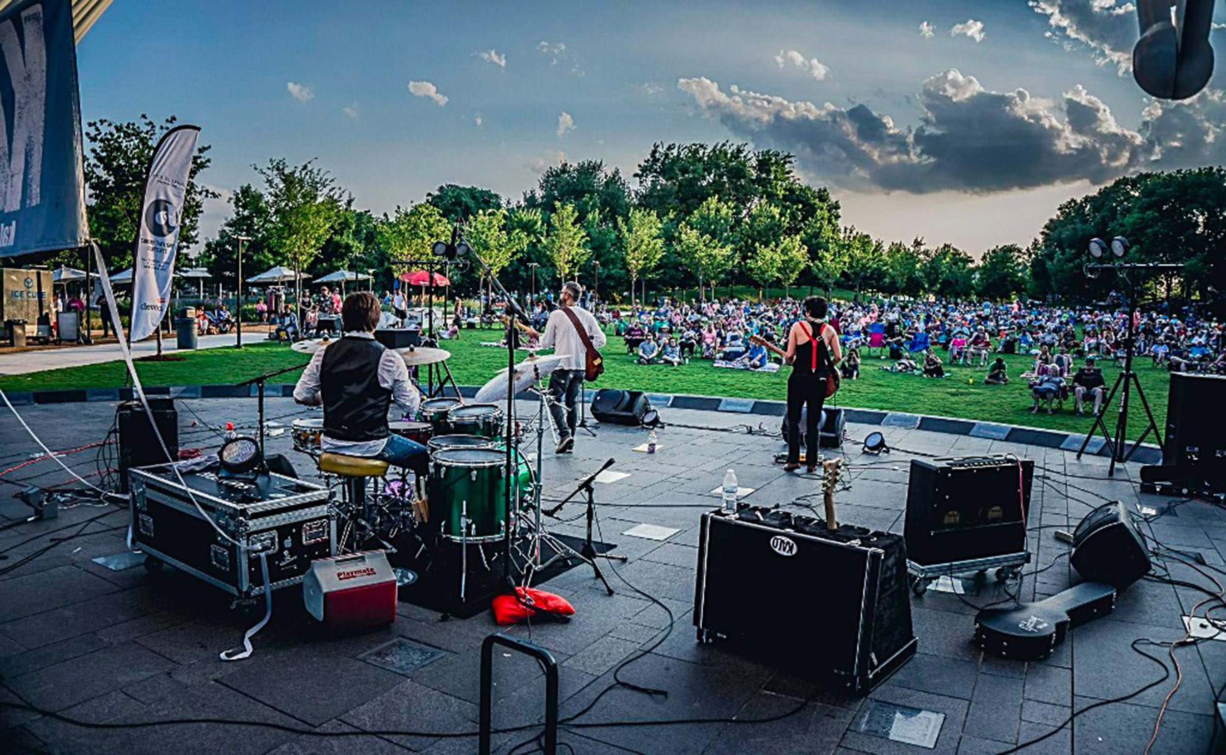 KALO plays the Sunday Twilight Concert Series in Oklahoma City