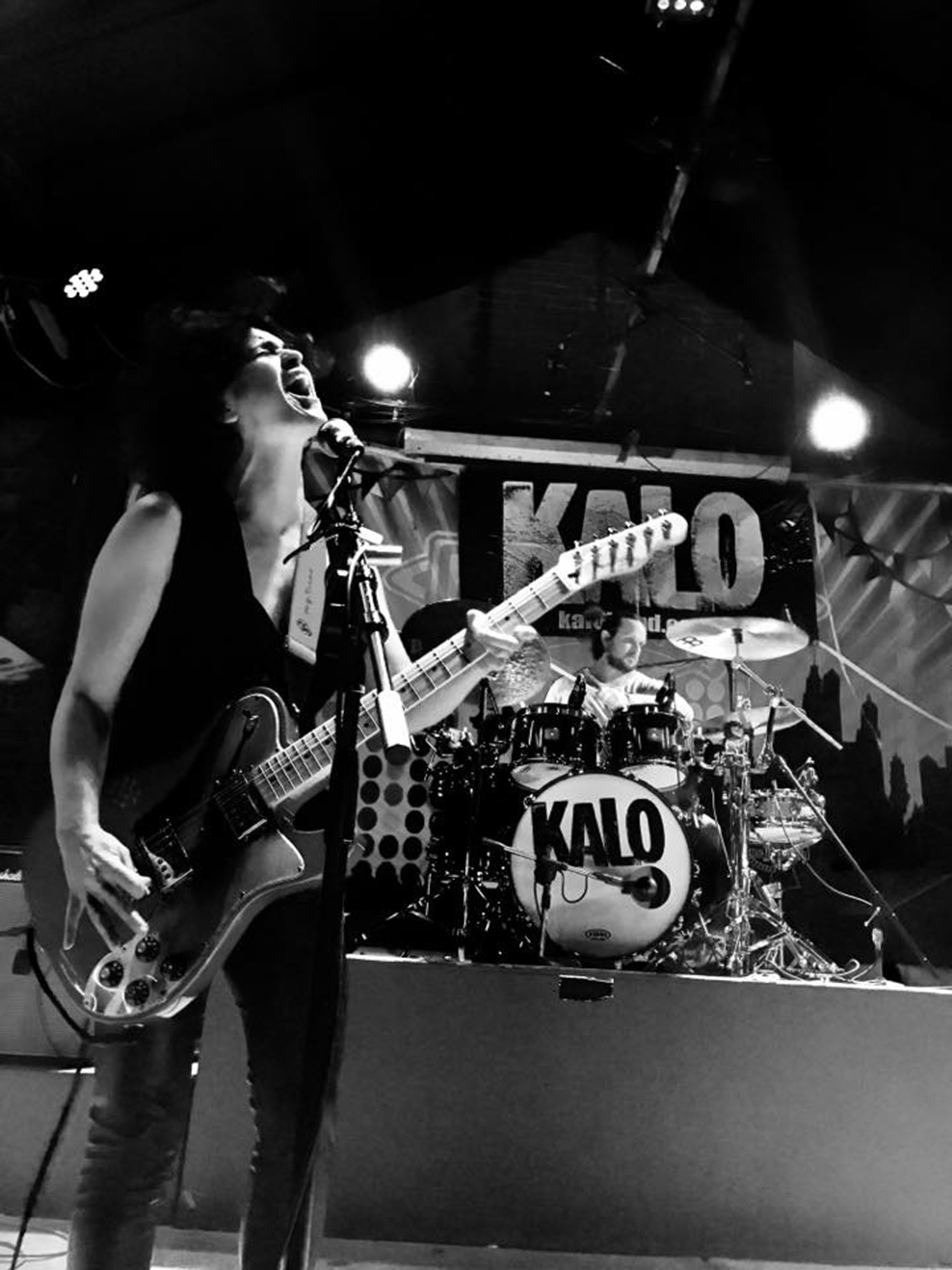 Bat-Or Kalo and Mike Alexander of the band KALO