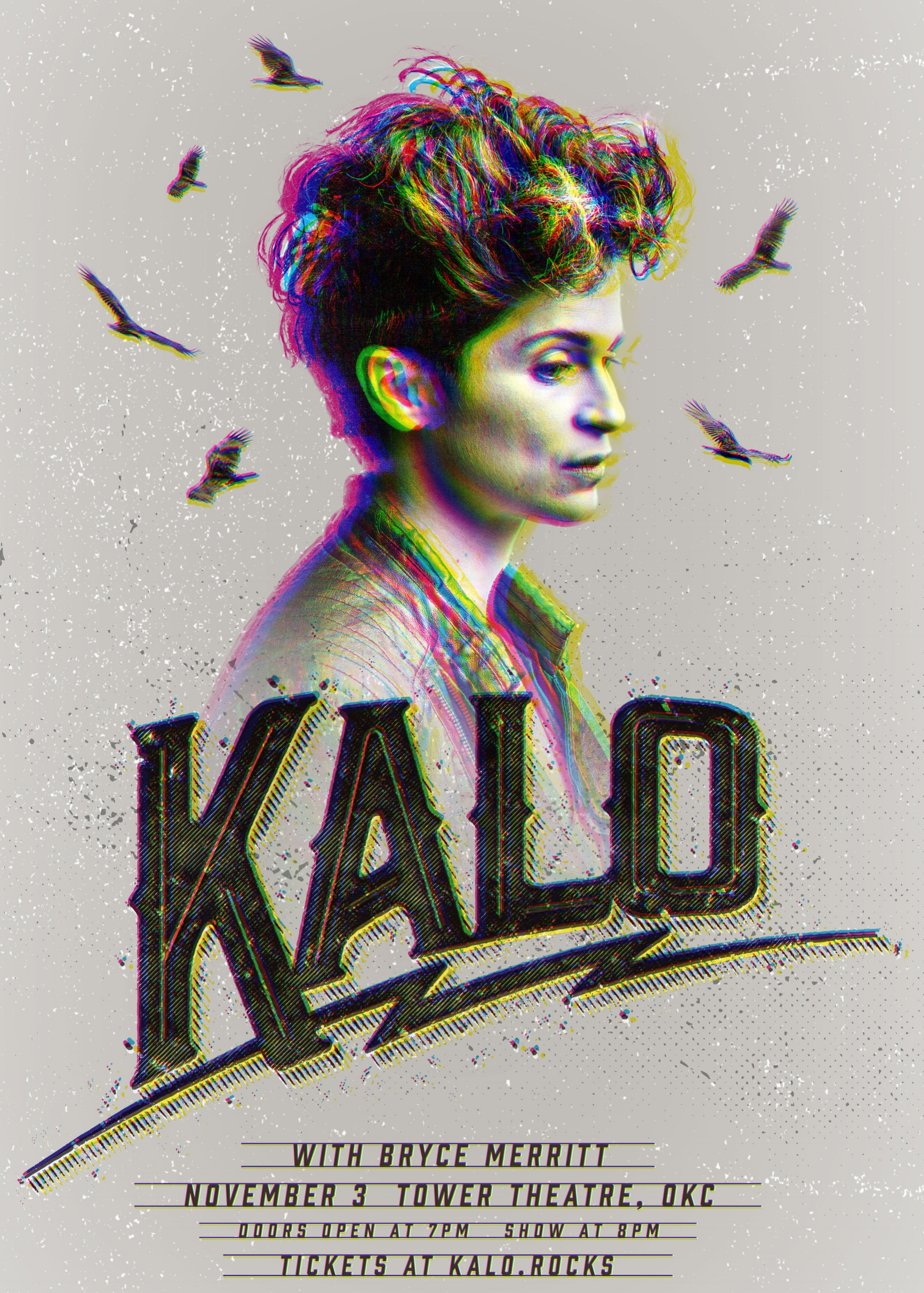The Hottest Show of the Season - KALO with Bryce Merritt Nov. 3 at Tower Theatre in Oklahoma City.