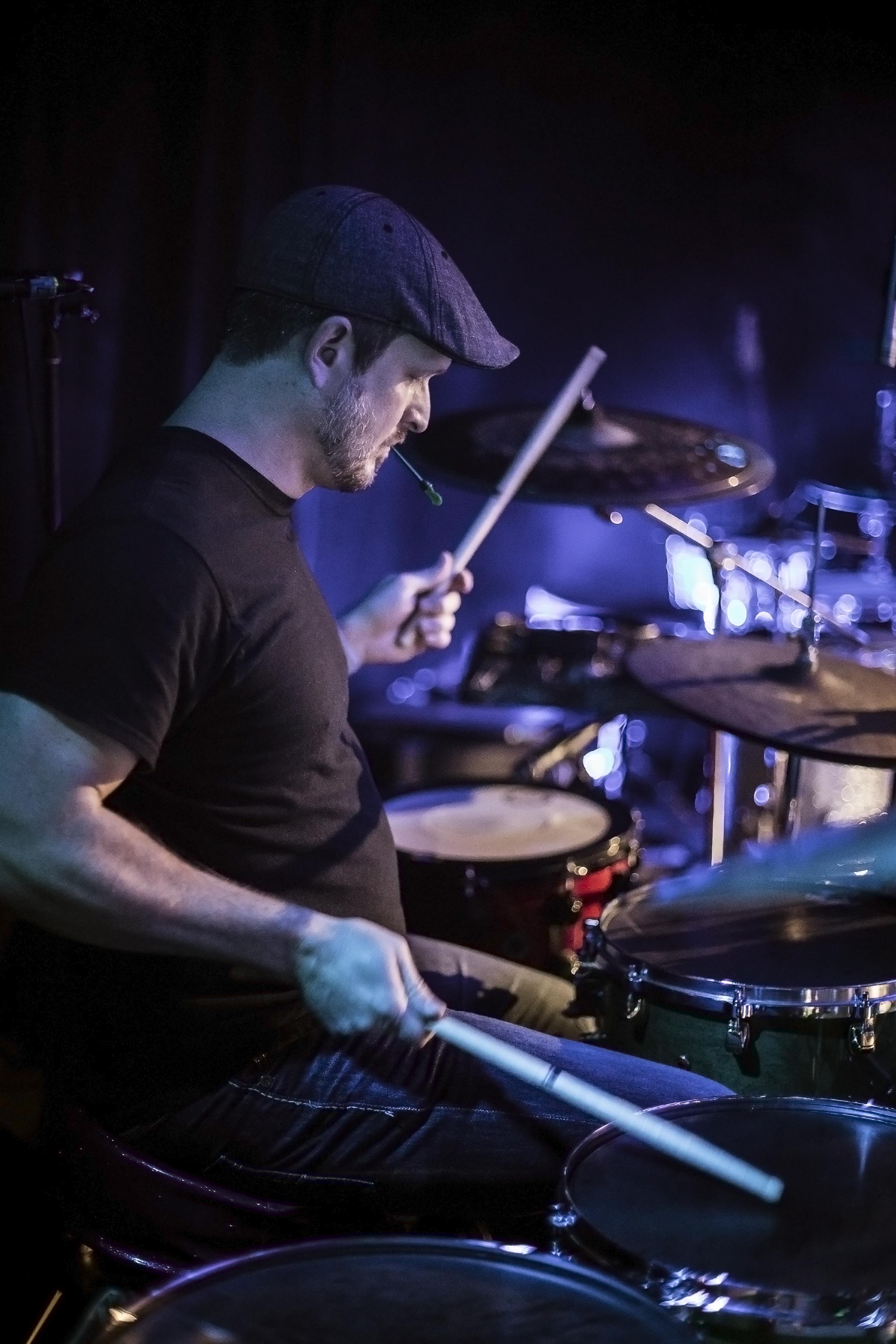 Drummer Mike Alexander of KALO