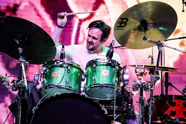 Mike Alexander, drummer, KALO