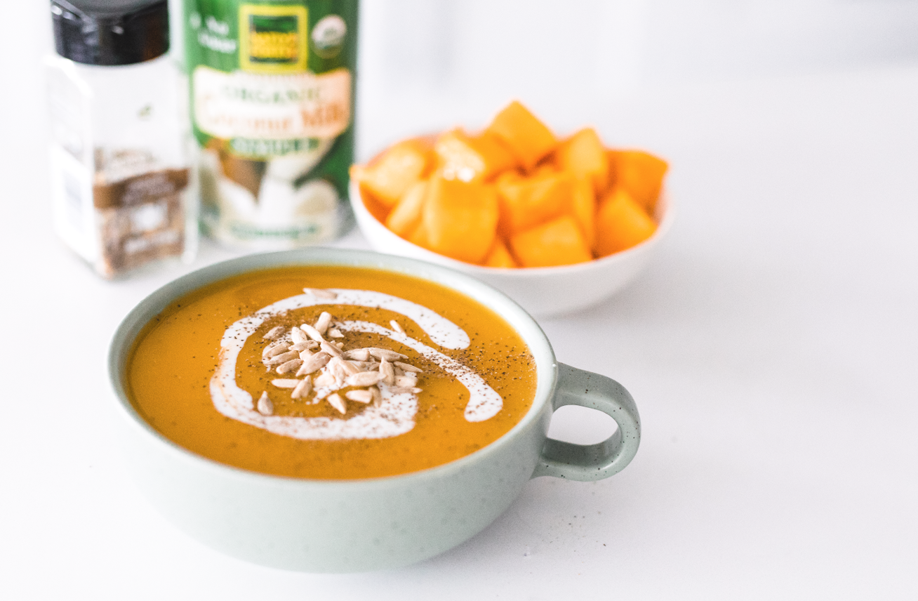Butternut Squash Soup | The Modern Life Mrs