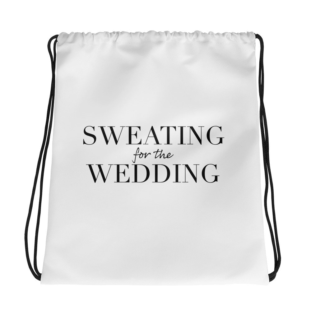 SWEATING FOR THE WEDDING | tote bag
