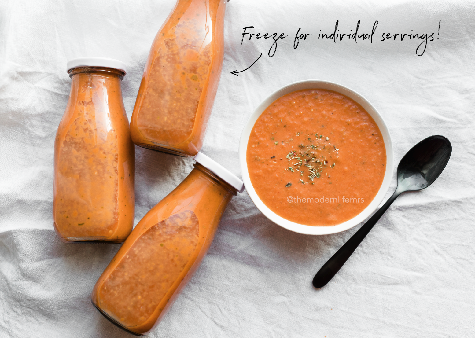 Modern Life Mrs - Tomato Bisque Soup