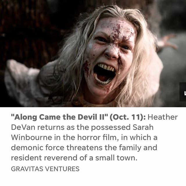 "USA TODAY just announced our film as ""falls most must see movies"" link in bio! #indie #horror #thriller #devanclanproductions #alongcamethedevil2 #jordanscominghome #cinematography #demon #devil #jasondevan @usatoday"