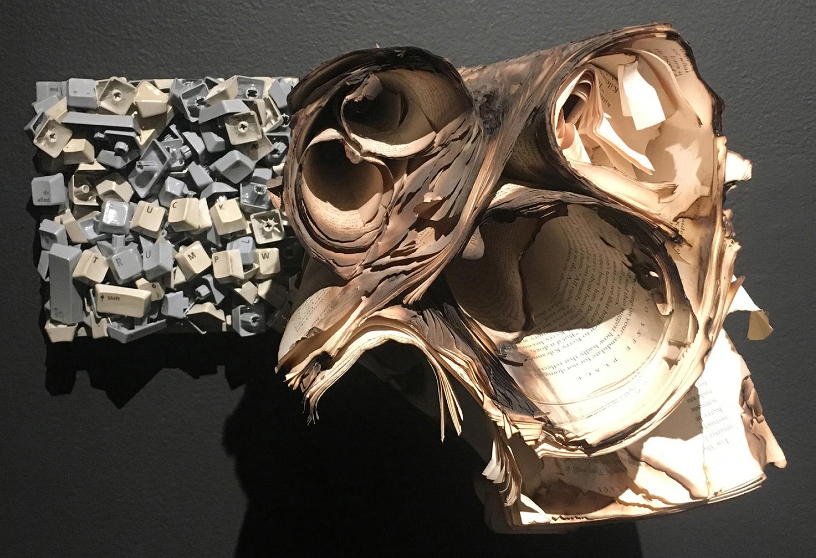 EMILIO MALDONADO   7.5 - 12%, 6 x 12 x 13 inches / 15 x 30 x 33 cm, mixed media, 2017