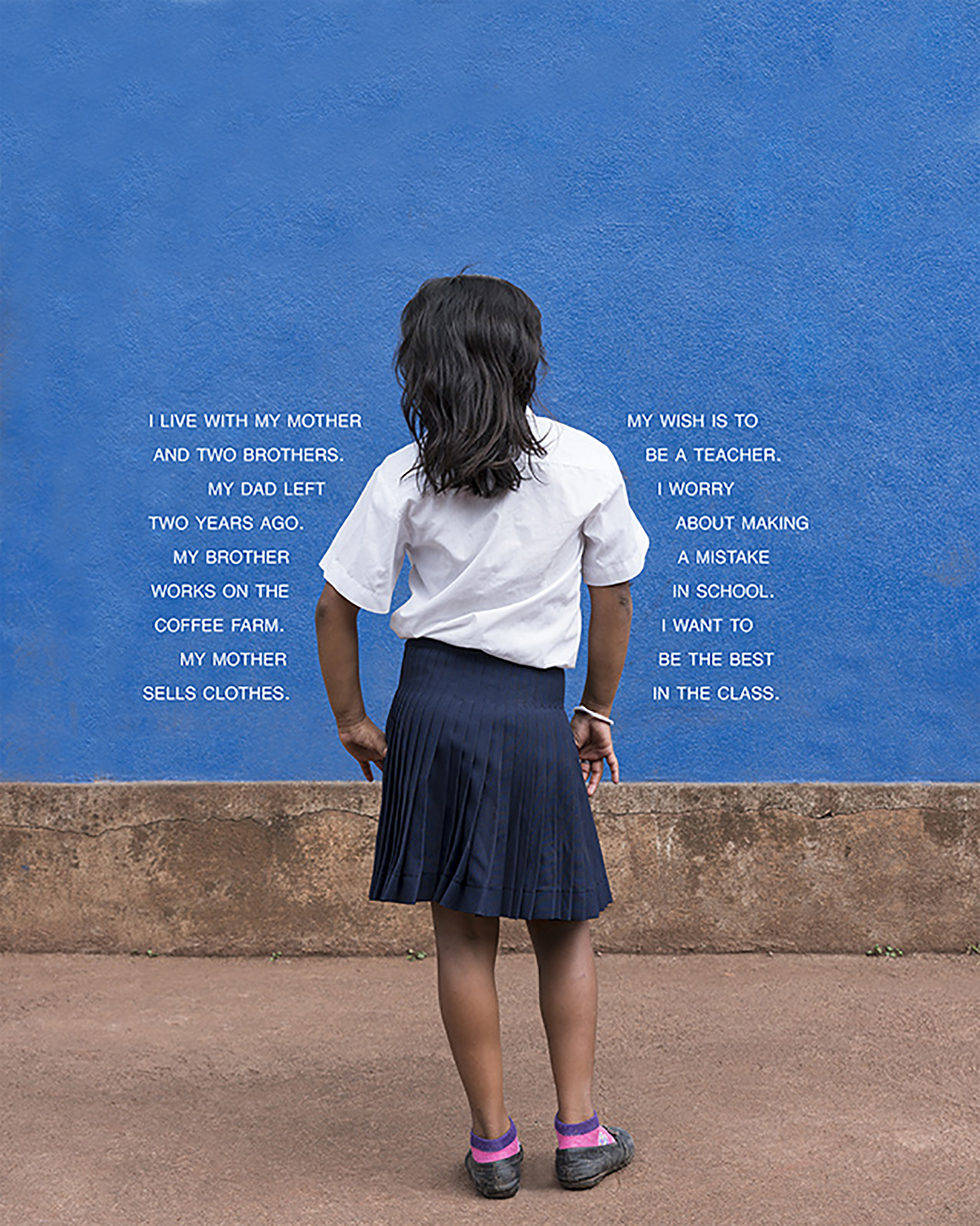 Fourth Grade - The Class (Nicaragua: Public School), 25 x 20 inches / 63.5 x 50.8 cm, archival pigment print, edition 1/5, 2016