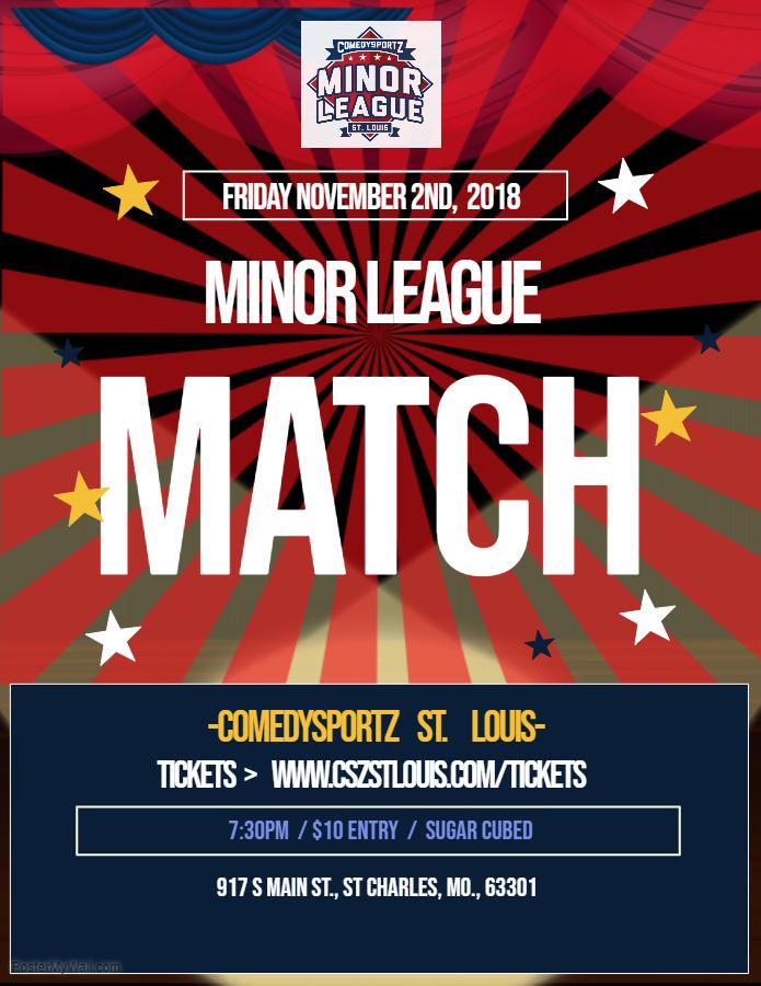 Minor League Nov. 2nd, 2018 match