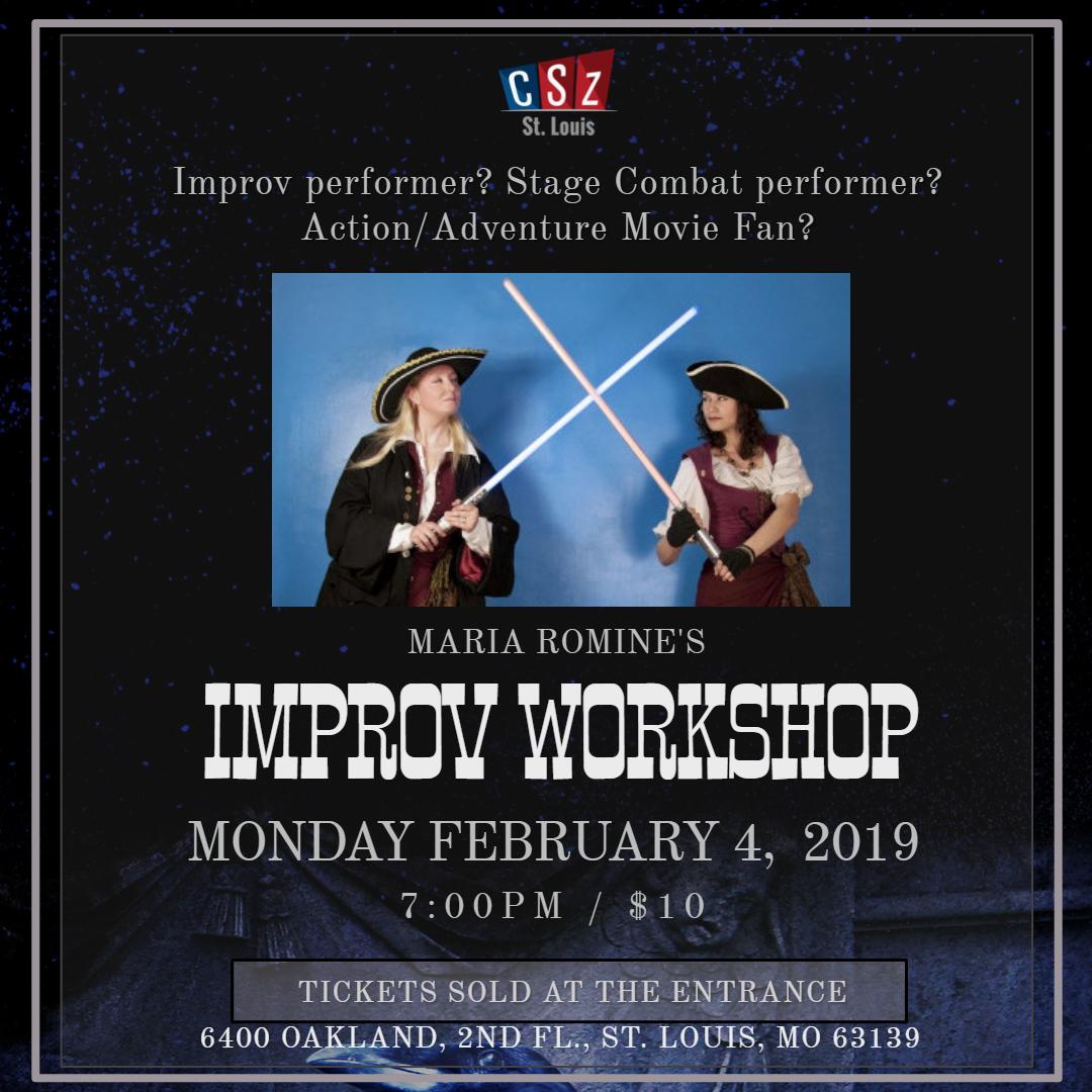 Join us! - Fun Short form Improv Workshop