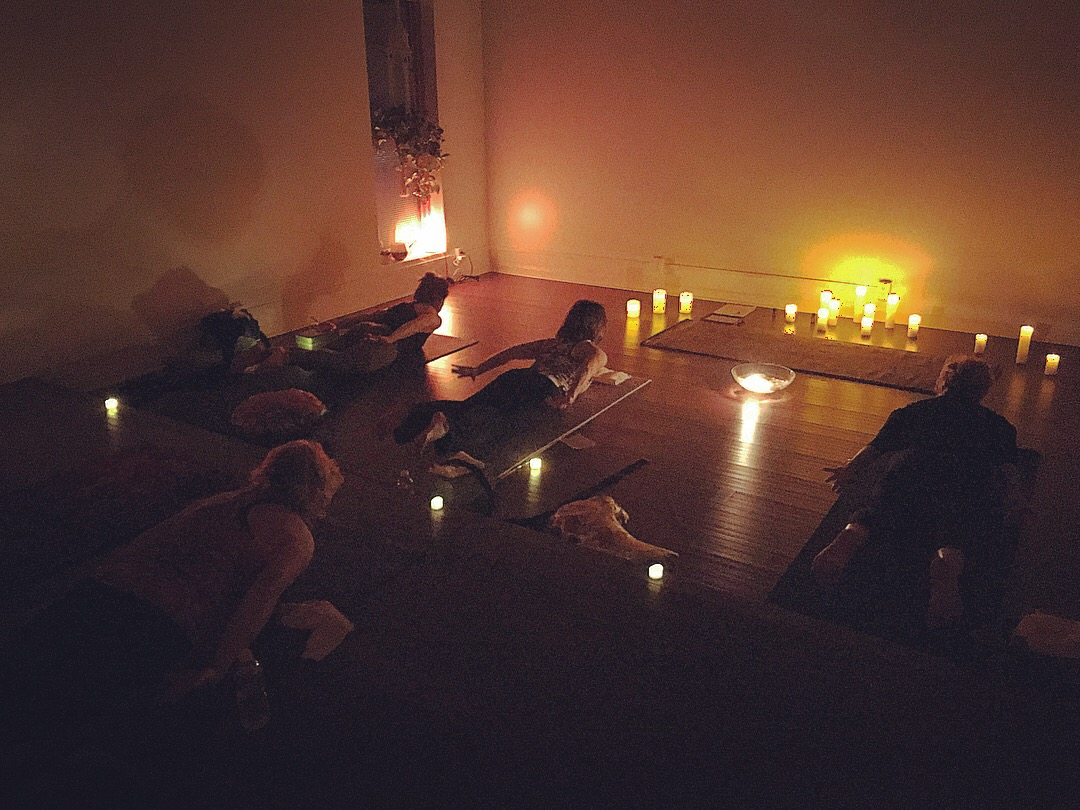 Christmas Eve Candlelit Vinyasa - Monday, December 24th @ 6 - 7:30pm$25 - 1.5 hour Candlelit Vinyasa Special Class