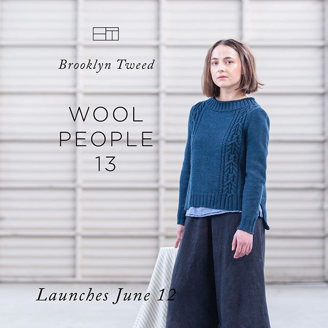 I'm a little bit speechless over this. I've admired everything that @brooklyntweed has ever put out, and now...well there it is! A little teaser for you. The BT team says it best: Wool People 13 is inspired by the interplay of nature and structure: modern gardens, urban oases, and other constructed spaces where nature invites it-self in and people seek daily refuge. Stay tuned for the reveal of this beautiful collection on June 12th! - - - #woolpeople13 #brooklyntweed #knittersofinstagram