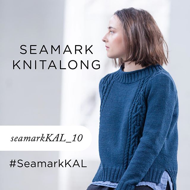 Hi everyone! I'd love for you to join me for the Seamark KAL. The knit-along will officially begin on August 1st and will end on September 30th. That's two months to finish up your sweaters - and I promise you'll knit this sweater in no time. - If you've already started your sweater, you are more than welcome to join. Come one, come all for this KAL. You can head to the Ravelry thread to participate - the link is in my profile. I invite you to chat about what yarn you'd like to use, share your excitement, or ask any questions you might have as we lead up to the start date. I hope you'll share your wips and cheer one another on. You can also share your progress with the hashtag #SeamarkKAL. And of course, share photos of your finished Seamarks! - If you choose to use Arbor for your sweater, you can use the discount code: seamarkKAL_10 for 10% off your order from @brooklyntweed . I can't wait for you to join in on the fun! - Photo by @jared_flood . . . #seamarkpullover #seamarkKAL #woolpeople13 #brooklyntweed #rachbrockknits #brooklyntweedarbor #knittersofinstagram #knittersoftheworld #knitting #sweaterknitting #instaknit