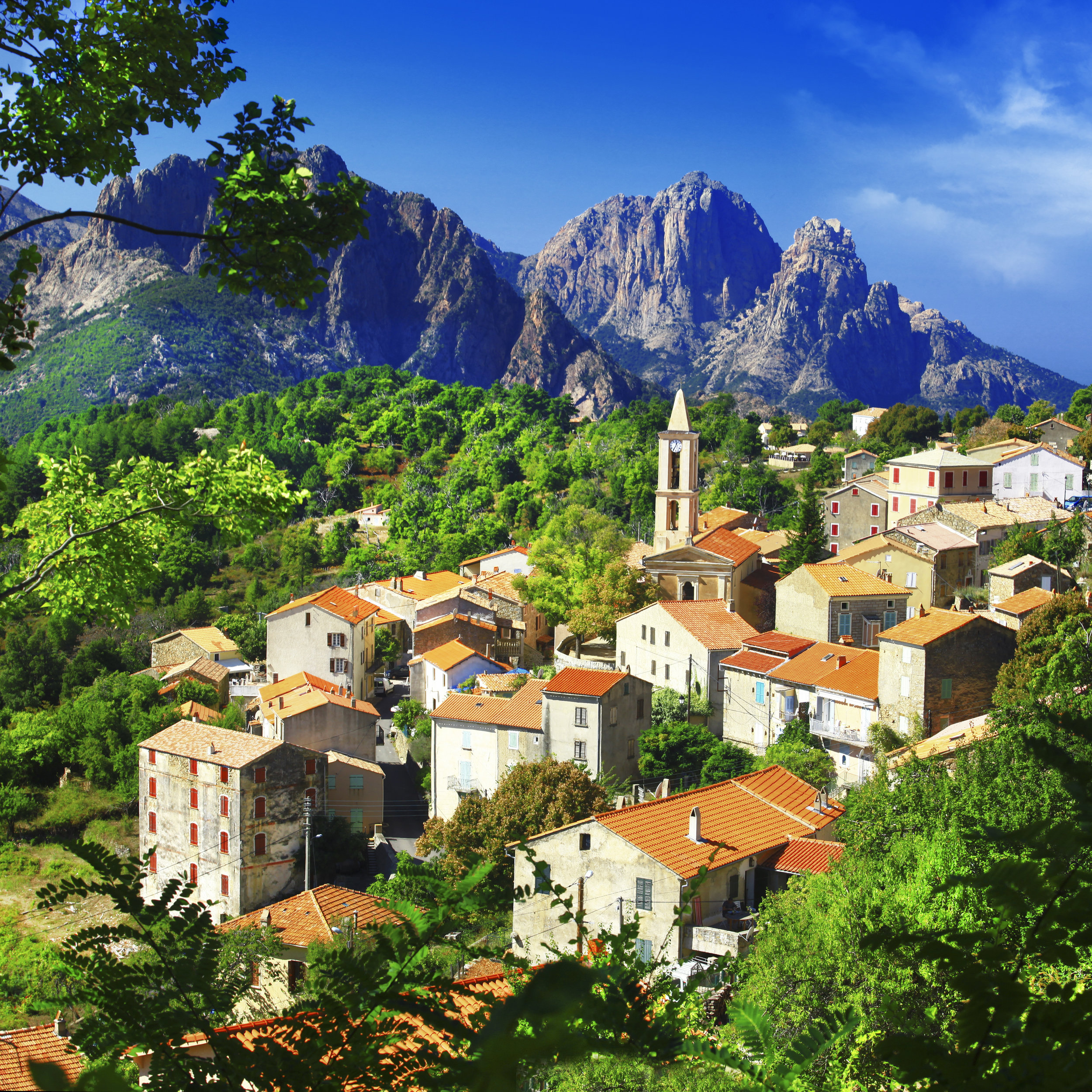 Copy of Mountain village