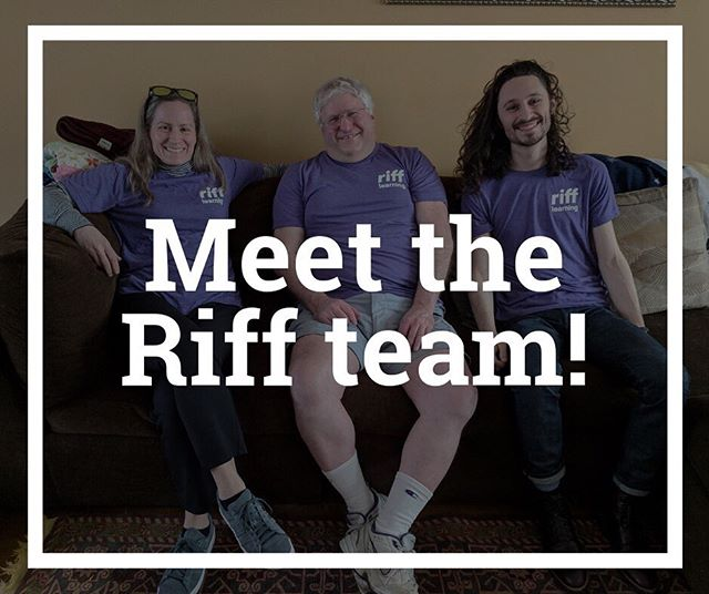 The Riff platform is all about collaboration, so naturally, our incredible team is a key part of what makes Riff run smoothly! Stay tuned to #meettheriffteam for a series of profiles about the fantastic people behind the innovation going on at @rifflearning !