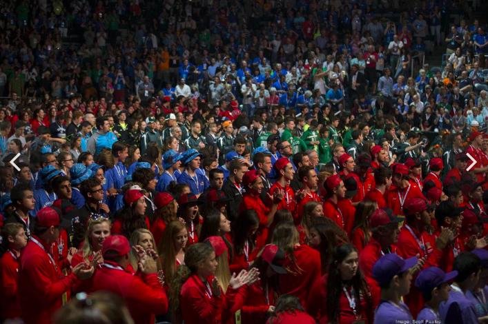 Olympian, VIP crowd welcome nearly 1,000 teens to Milwaukee, Maccabi Games. Slideshow - Milwaukee - Milwaukee Business Journal Safari, Today at 1.02.53 AM copy.png