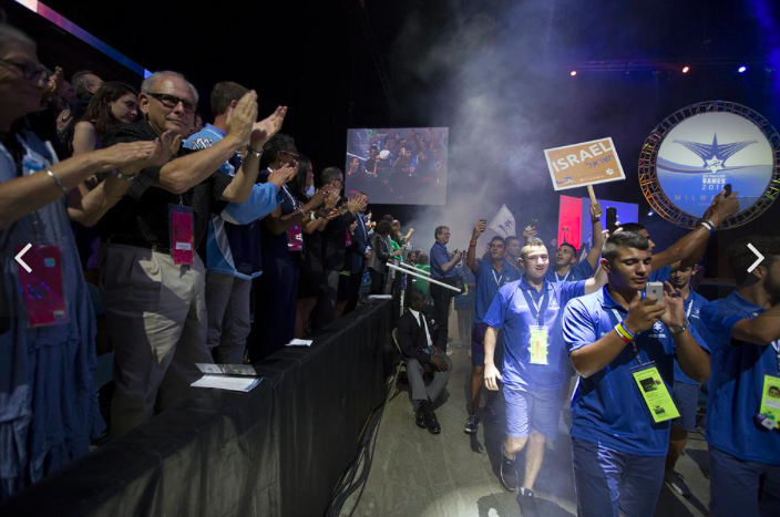Olympian, VIP crowd welcome nearly 1,000 teens to Milwaukee, Maccabi Games. Slideshow - Milwaukee - Milwaukee Business Journal Safari, Today at 1.04.32 AM copy.png