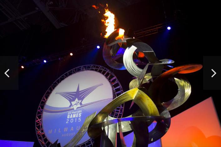 Olympian, VIP crowd welcome nearly 1,000 teens to Milwaukee, Maccabi Games. Slideshow - Milwaukee - Milwaukee Business Journal Safari, Today at 1.07.10 AM.png