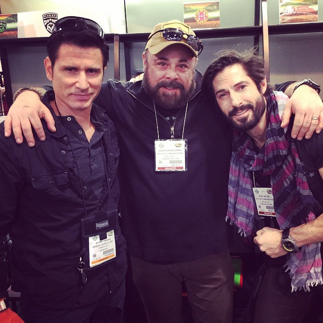 SpecOps #CEO @adamhandelsman & client @realrudyreyes hit up #ShotShow2015 for a week of shooting, hunting and all things outdoor and tactical! #LasVegas