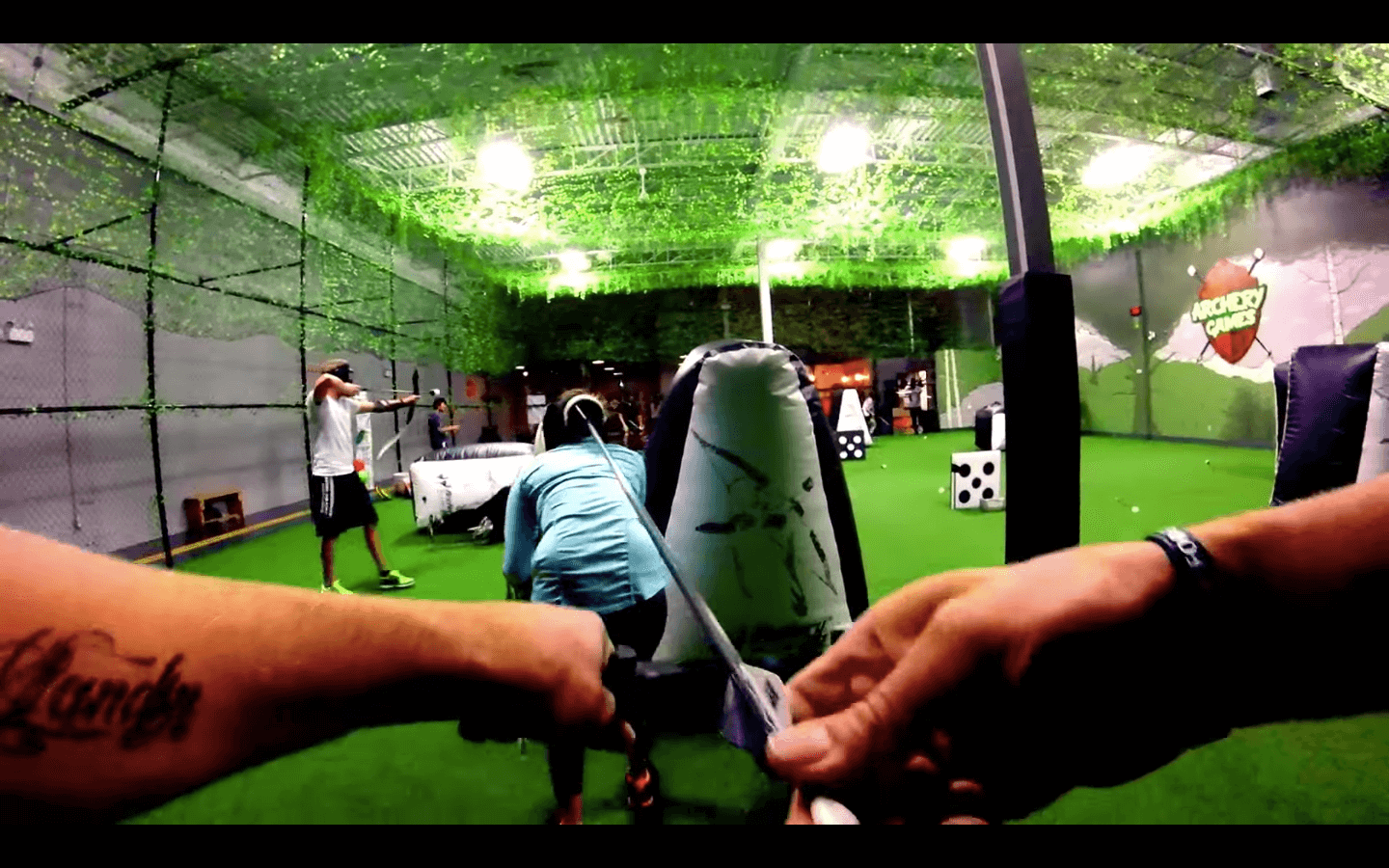 Archery Tag, First Person POV