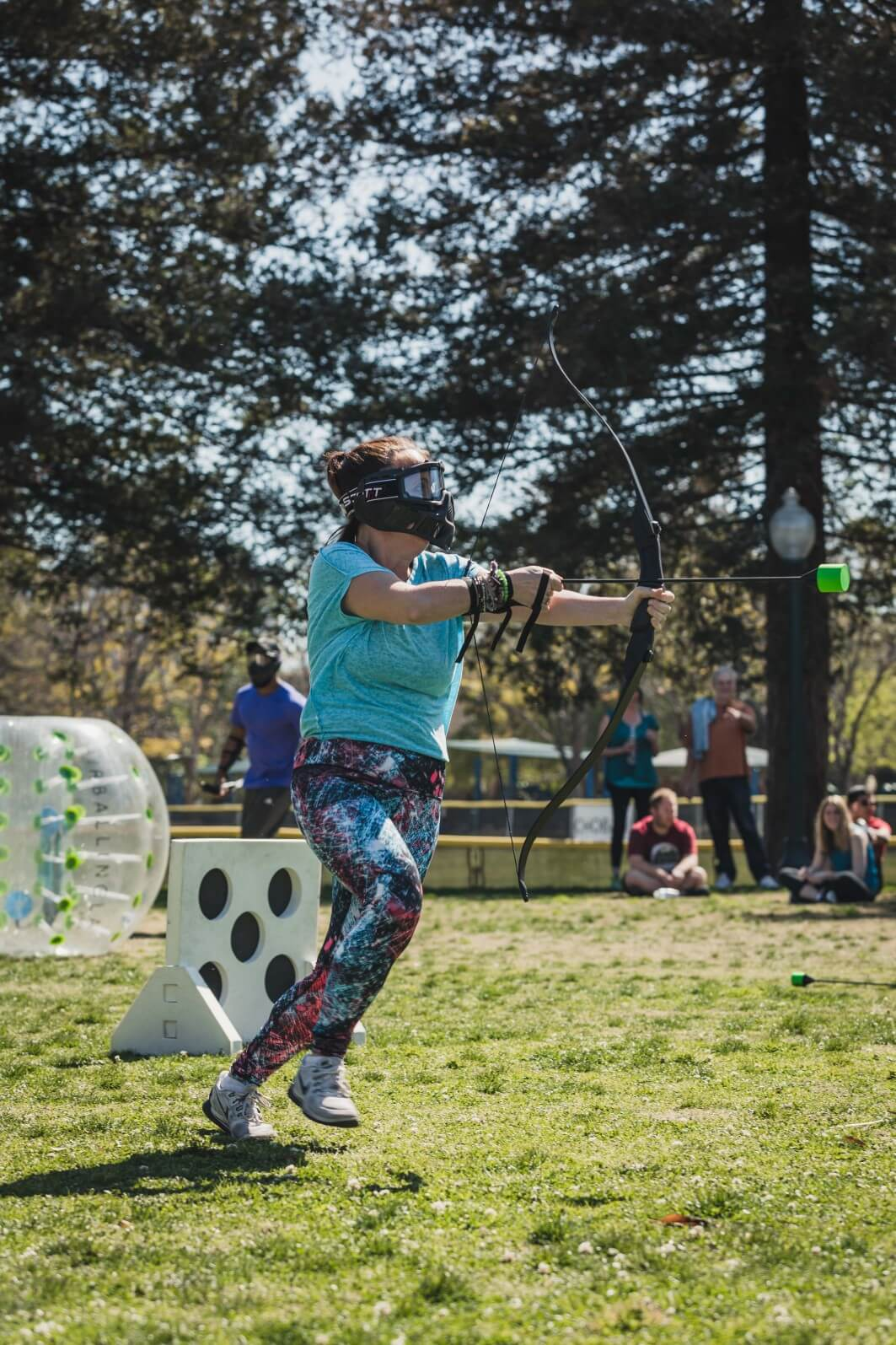 RUN AND SHOOT | Archery Tag by AirballingLA