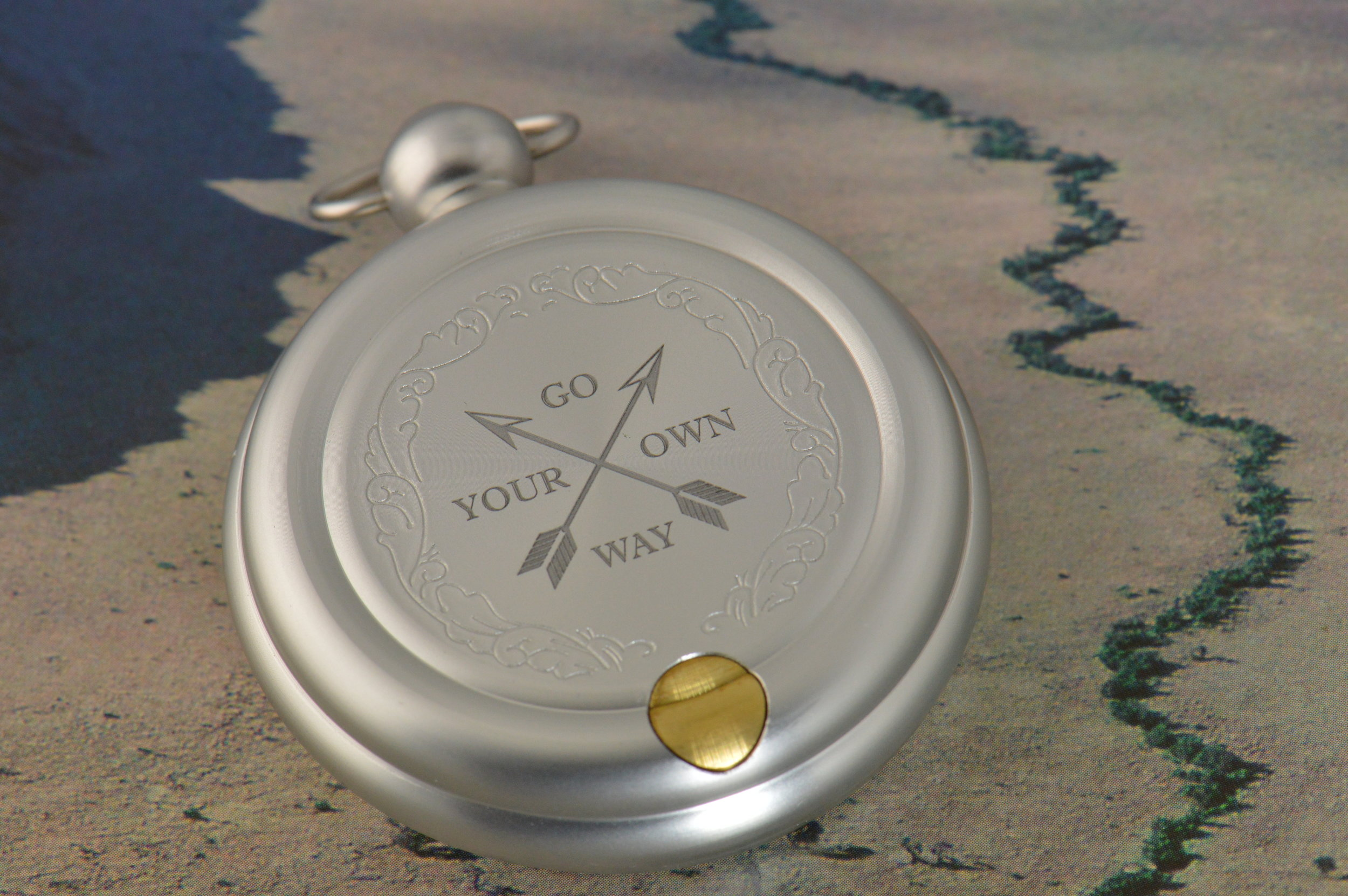 Personalizing a client's compass.